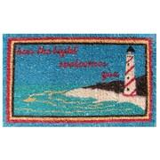 Imports Decor Creel Light House Doormat; 18'' x 30''