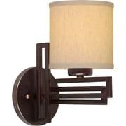 Forte Lighting 1-Light Bracket Wall Sconce