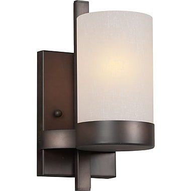 Forte Lighting 1-Light Bracket Wall Sconce