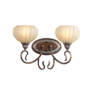 Woodbridge Liezel 2-Light Wall Sconce