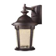 Designers Fountain Whitmore 1-Light Outdoor Wall Lantern; 12.25'' x 7'' x 8''