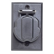 Design House Outdoor Electrical Outlet for Post