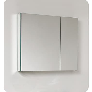 Fresca 29.63'' x 26.13'' Surface Mount or Recessed Medicine Cabinet