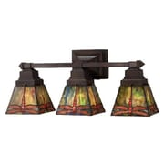 Meyda Tiffany Prairie Dragonfly 3 Light Vanity Light