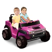 Kidz Motorz Hummer H2 12V Battery Powered Jeep; Pink by