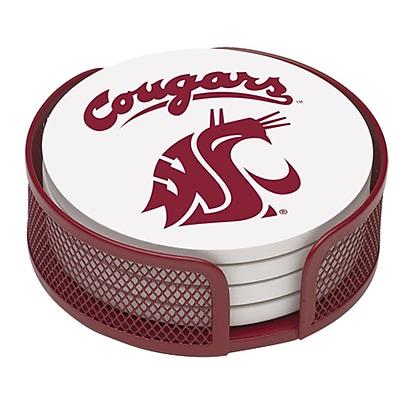 Thirstystone 5 Piece Washington State University Collegiate Coaster Gift Set