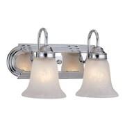 Millennium Lighting 2-Light Vanity Light; Chrome