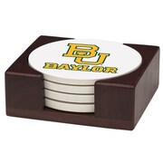 Thirstystone 5 Piece Baylor University Wood Collegiate Coaster Gift Set