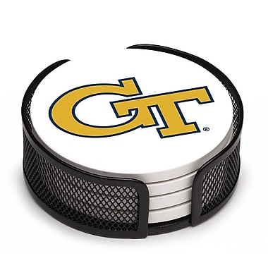 Thirstystone 5 Piece Georgia Tech Collegiate Coaster Gift Set