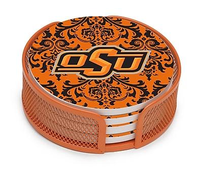 Thirstystone 5 Piece Oklahoma State University Collegiate Coaster Gift Set