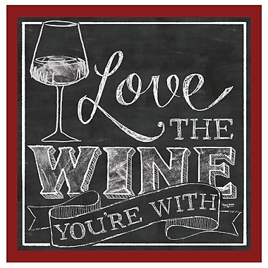 Thirstystone Love The Wine You're w/ Occasions Coaster (Set of 4)