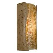 A19 ReFusion Lava 1-Light Wall Sconce; Sandstorm and Multi Amber
