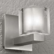 LumenArt Alume 1-Light Wall Sconce; Without Aluminum Square Junction Box Cover