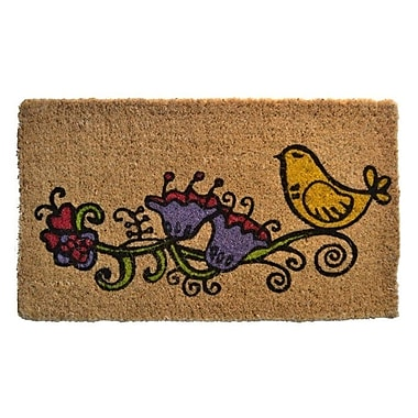 Imports Decor Creel Twitter Doormat; Rectangle 30'' x 18''