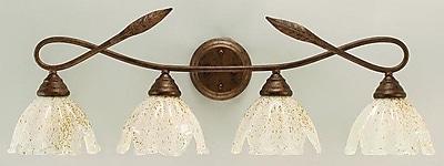 Toltec Lighting Leaf 4-Light Vanity Light