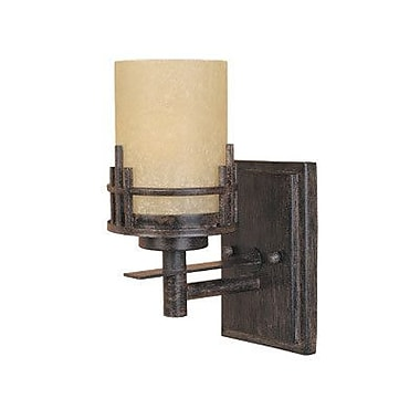 Designers Fountain Mission Ridge 1-Light Armed Sconce