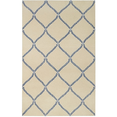 Capel Parable Blue Area Rug; Rectangle 5' x 8'