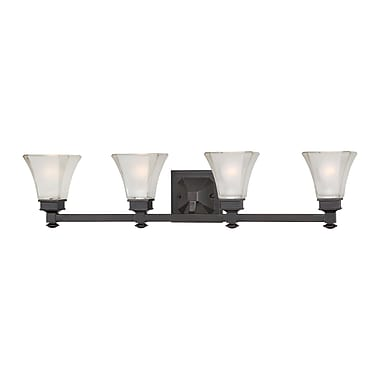 Designers Fountain Canterbury 4-Light Vanity Light