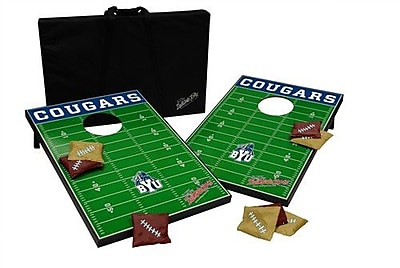 Tailgate Toss NCAA 10 Piece Cornhole Game Set; BYU
