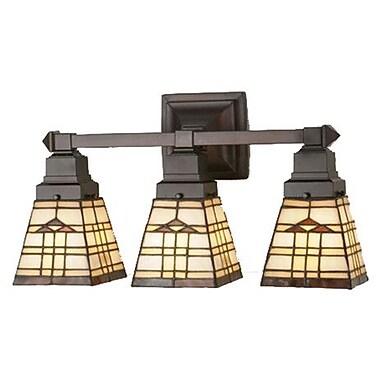 Meyda Tiffany Arrowhead Mission 3 Light Vanity Light