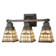 Meyda Tiffany Arrowhead Mission 3 Light Vanity Light