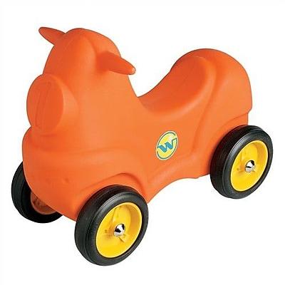 Wesco NA Wescomobile Push/Scoot Car; Orange