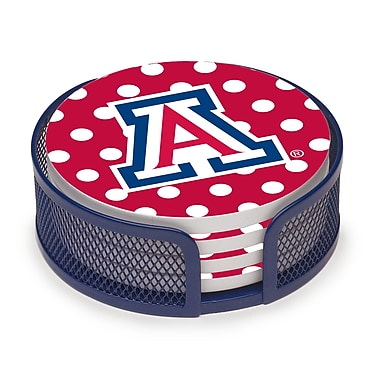 Thirstystone 5 Piece University of Arizona Dots Collegiate Coaster Gift Set