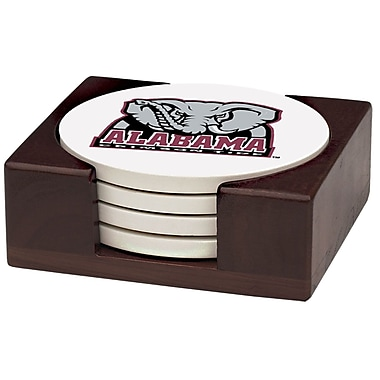 Thirstystone 5 Piece University of Alabama Wood Collegiate Coaster Gift Set
