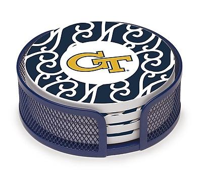 Thirstystone Georgia Institute of Technology Swirls Collegiate Coaster