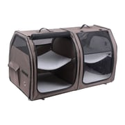 OneForPets Show House Cat Carrier; Tan