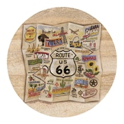 Thirstystone Route 66 Map Coaster (Set of 4)
