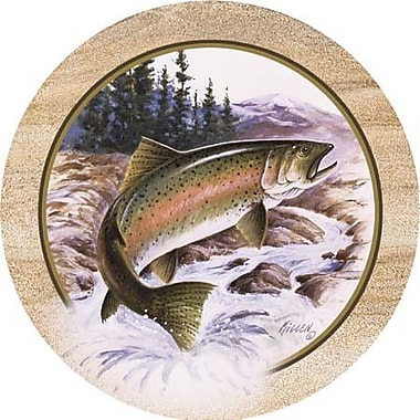 Thirstystone Killen's Trout Coaster (Set of 4)