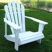 Shine Company Inc. Westport Adirondack Chair; White
