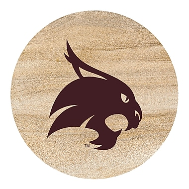 Thirstystone San Marcos Texas State University Collegiate Coaster (Set of 4)