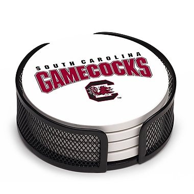 Thirstystone 5 Piece University of South Carolina Collegiate Coaster Gift Set