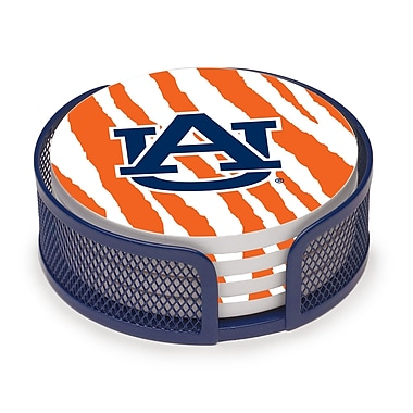 Thirstystone 5 Piece Auburn University Stripes Collegiate Coaster Gift Set