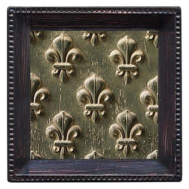 Thirstystone Fleur de Lis Embossed Ambiance Coaster Set (Set of 4)