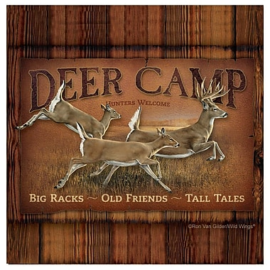 Thirstystone Deer Camp Occasions Coasters Set (Set of 4)