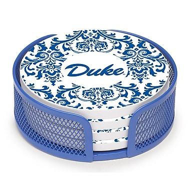 Thirstystone 5 Piece Duke University Swirls Collegiate Coaster Gift Set