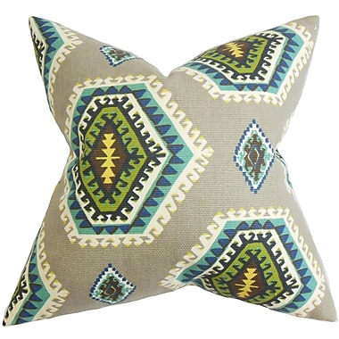 The Pillow Collection Lorne Geometric Cotton Throw Pillow; 20'' x 20''