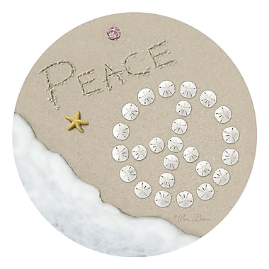 Thirstystone Peace Sandwriting Occasions Coaster (Set of 4)