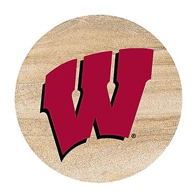 Thirstystone University of Wisconsin Collegiate Coaster (Set of 4)