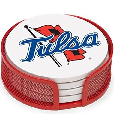 Thirstystone 5 Piece University of Tulsa Collegiate Coaster Gift Set