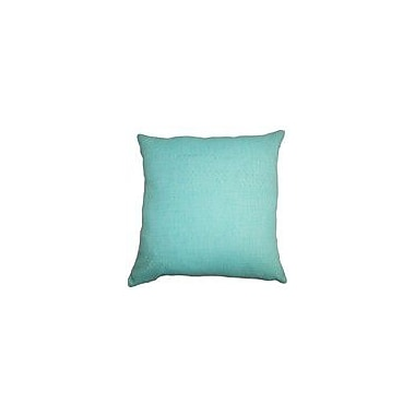 The Pillow Collection Haloke Solid Outdoor Throw Pillow; 18''x18''