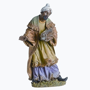 Roman, Inc. African Wise Man Color Figurine
