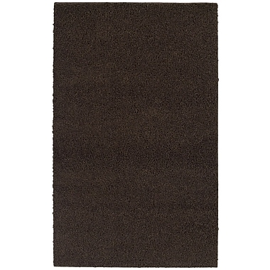 Garland Rug Southpointe Shag Chocolate Area Rug; 3' x 5'