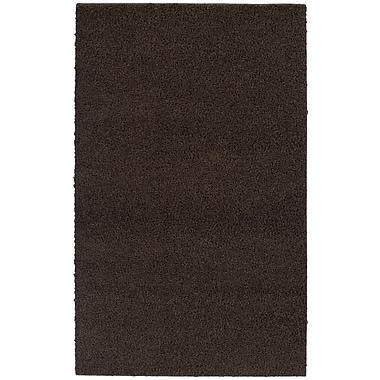 Garland Rug Southpointe Shag Chocolate Area Rug; 4' x 6'