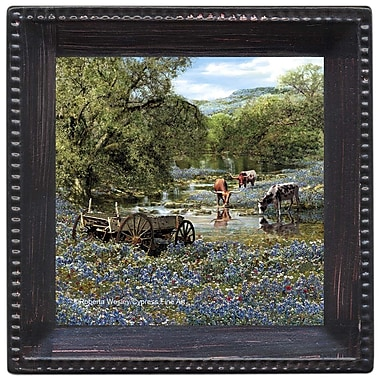 Thirstystone Hill Country Blues Ambiance Coaster Set (Set of 4)