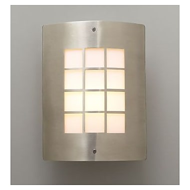PLC Lighting 1-Light Outdoor Flush Mount