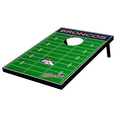 Tailgate Toss NFL Football Cornhole Set; Denver Broncos